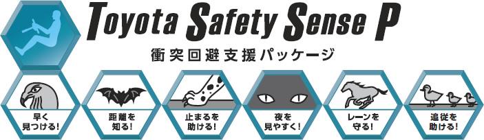 衝突回避支援パッケージ「Toyota Safety Sens P」
