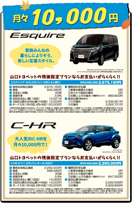 月々1万円